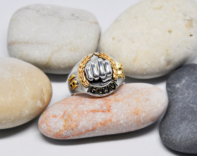Martial Arts Ring - personalised sports ring,