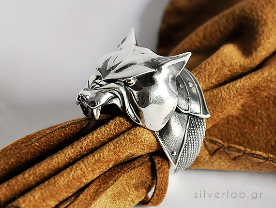 "The Hound, Sandor Clegane, House Clegane Ring, ""Game of Thrones "" inspired ""Houses of Westeros"" Jewelry ,  Dog Animal Ring"