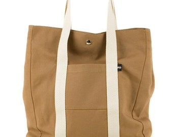 Rust Backsac Bag, Two In One, Versatile, Tote Bag or Backpack, Shopping Bag, Women's Bag