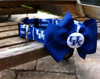University of Kentucky Collar With Bow