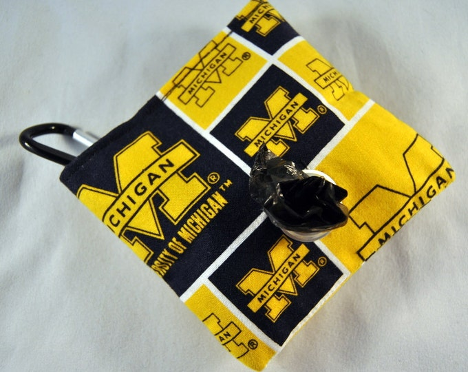 University of Michigan Poop Bag Pouch