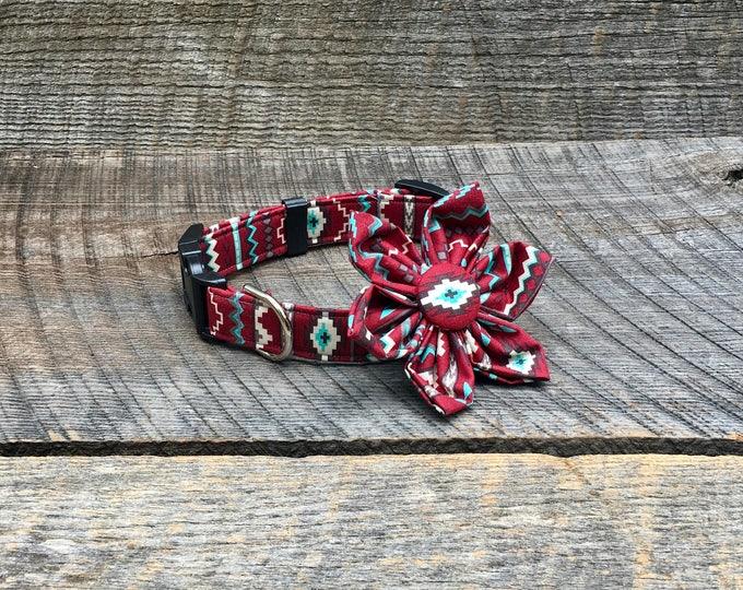 Surya Arizona Rust Fabric Flower Accessory