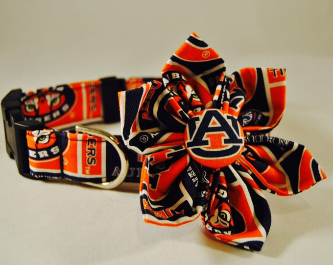 Auburn Fabric Flower Accessory