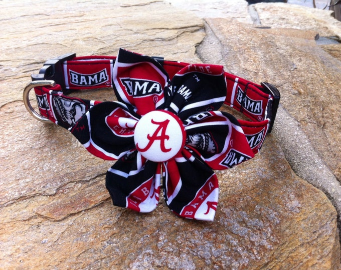 Alabama Fabric Flower Accessory