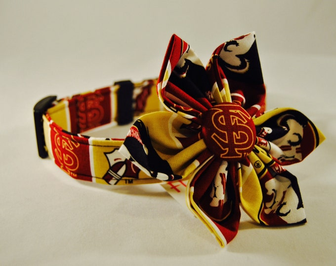 FSU Fabric Flower Accessory