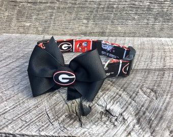 University of Georgia Collar with Bow