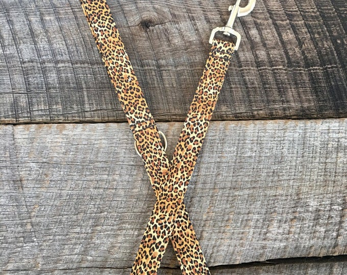 Leopard Dog Leash