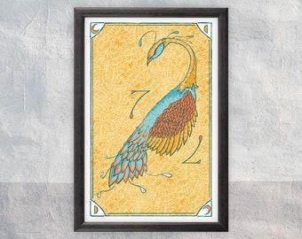 Gal Peacock - Art Print