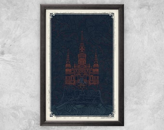 St. Louis Cathedral | New Orleans - Art Print