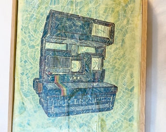 Polaroid - Painting
