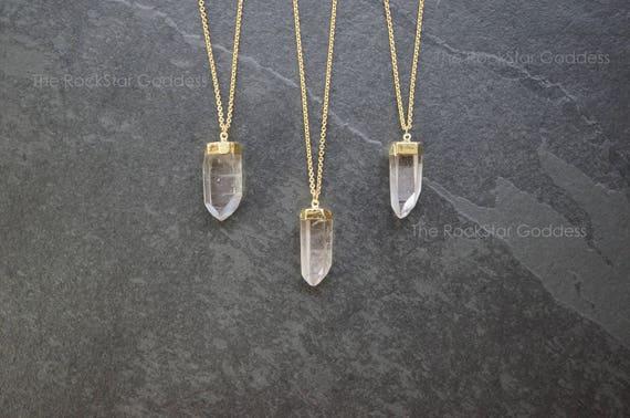 collier homme quartz
