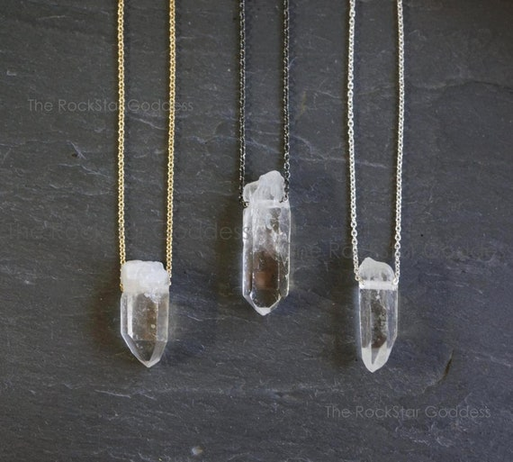 Mens Crystal Necklace Rough Crystal Necklace Crystal Pendant Rustic Gem Window Fenster Quartz Pendant Mens Necklace Raw Quartz Necklace
