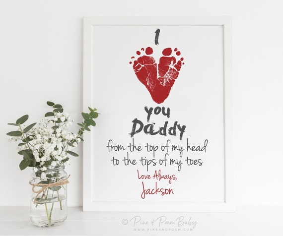 Valentines Day Gift For New Dad From Baby Etsy