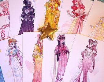 My Little Pony Dress Postcard Set