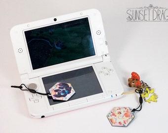 Cell Phone Charm Screen Cleaner - Moon/Sun God, Kitsune and Otsune