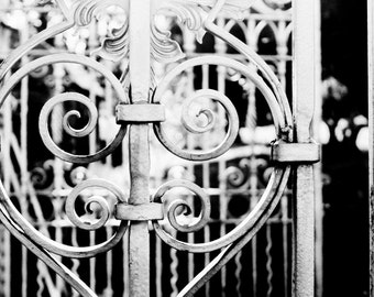 Black and White Photography - Iron Heart Fine Art Photograph