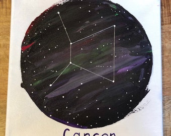 Cancer Constellation Painting