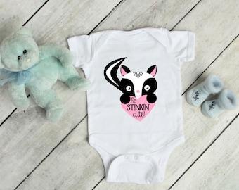 Stink'n Cute Onsie, T-Shirts, Designs, Children T-Shirts, Newborn, Baby Shower, Custom Made