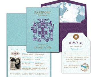 Custom Invitations Stationery By Socialsavvydesign On Etsy