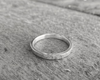 Items Similar To Mens Wedding Band Rose Gold And Silver 8mm