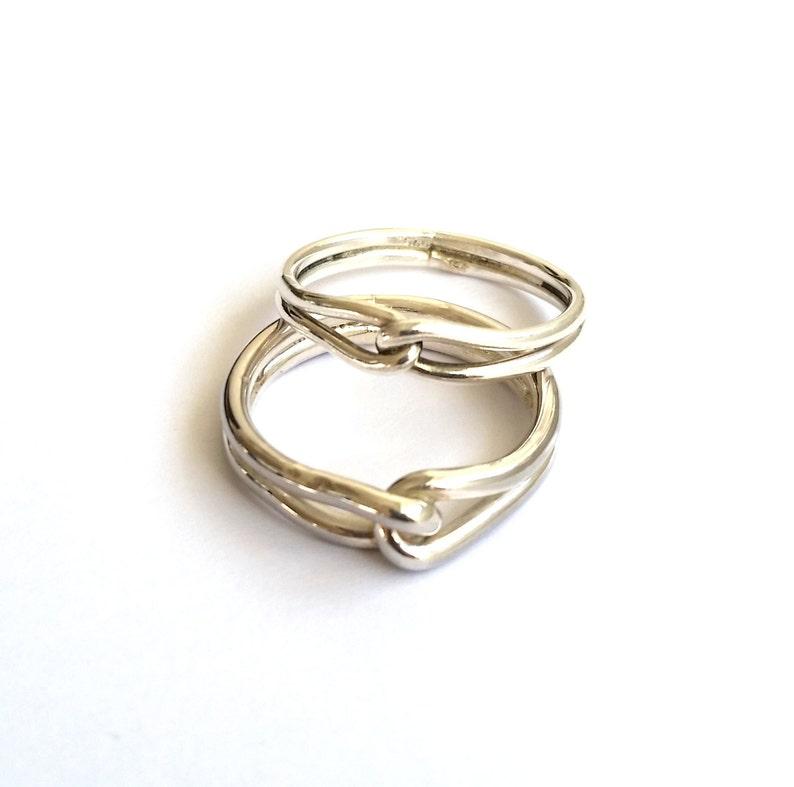 d114f14dd5c4e Men Engagement Ring - Men Sterling Ring - Male Wedding Ring - Anniversary  Gift for Men - Men's Infinity Ring - Mens Promise Ring - Custom