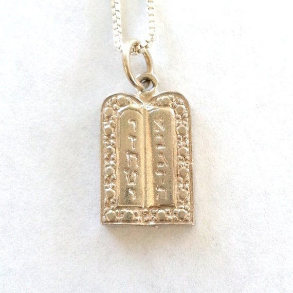 14k /& Rhodium Scroll Love Pendant