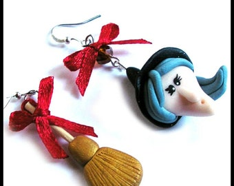 Earrings kids Christmas xmas