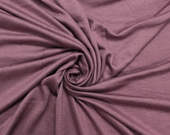 c3b19e6ff29 Mauve 2017 Light-weight 160 GSM Rayon Spandex Jersey Knit Fabric by the Yard  - 1 Yard Style 13390