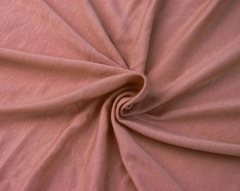 896c9eb1b96 Dusty Pink Dark Light-weight Rayon Spandex Jersey Knit Fabric - 160 GSM by  the Yard - Style 13390