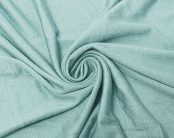 8ba080f0f2b Aqua D Light-weight Rayon Spandex Jersey Knit Fabric - 160 GSM by the Yard  - Style 13390