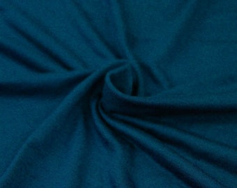 418f89bfe25 Teal Dark B Light-weight Rayon Spandex Jersey Knit Fabric - 160 GSM by the  Yard - Style 13390
