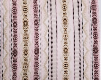 7e4de34ba5b8dc Pale Pink and Neutral Snake Skin Print Crepe Chiffon Fabric by the Yard-  Style P-848-586