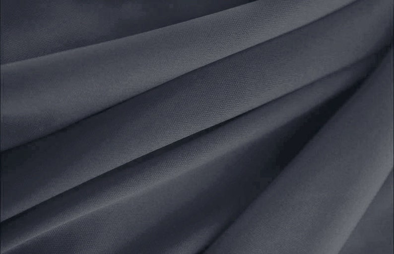 Cardigans 60 Wide Steel -161  Polyester Interlock Lining Fabric  Tops DIY by the Yard Decorations 1 Yard Style 13100