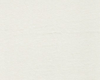 IVORY Ponte Roma Fabric IVORY solid knit fabric IVORY Ponte di Roma Fabric by the yard - 1 Yard Style 410