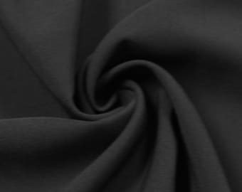 Black 4-Way Twill Stretch Fabric by the Yard - Style 597