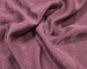 Mauve Dark Soft Poly Sand Wash Satin Fabric by the Yard - Style 682