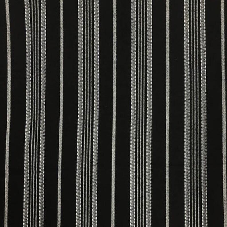 Colors Rayon Spandex Stripes  4x2 Stripe Rib Knit Fabric by the Yard 8