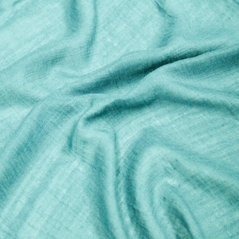 3cb2a67ac64 Aqua 58'' Swiss Gauze Tetron Rayon Fabric by Yard | Etsy