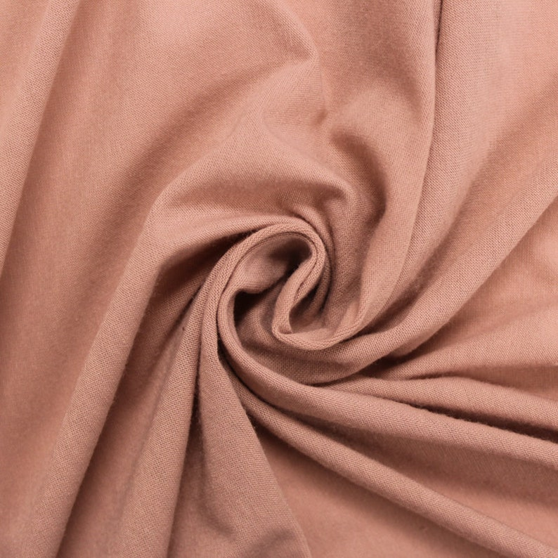 9f7ded11e20 Mauve SPL Light Solid Poly Rayon Spandex 160 GSM Light-Weight   Etsy