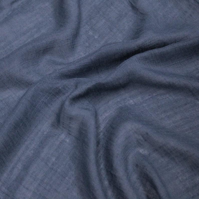 71d574dcb38 Denim 58'' Swiss Gauze Tetron Rayon Fabric by Yard | Etsy