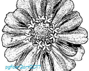 Thermofax Zinnia (Stamp Filter)