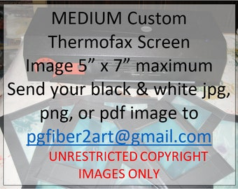 Thermofax Medium Custom Screen