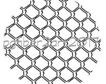 Thermofax Screen Circular Chain Link