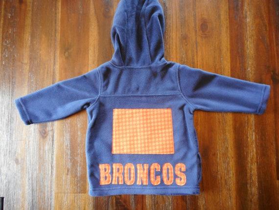 factory authentic 0c400 f17a9 Broncos Fleece Zip up Hoodie, Denver Broncos Hoodie, Broncos Hoodie, Denver  Broncos Sweatshirt, Broncos Sweatshirt, Colorado Hoodie, Denver