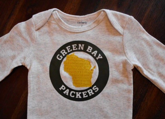 info for 1298c fea87 Green bay packers shirt, wisconsin bodysuit, state apparel. packers baby,  Green bay packers bodysuit, Wisconsin baby gift, Wisconsin baby