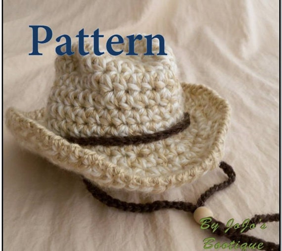 Baby Cowboy Hat Pattern Baby Cowboy Hat Western Hat Etsy