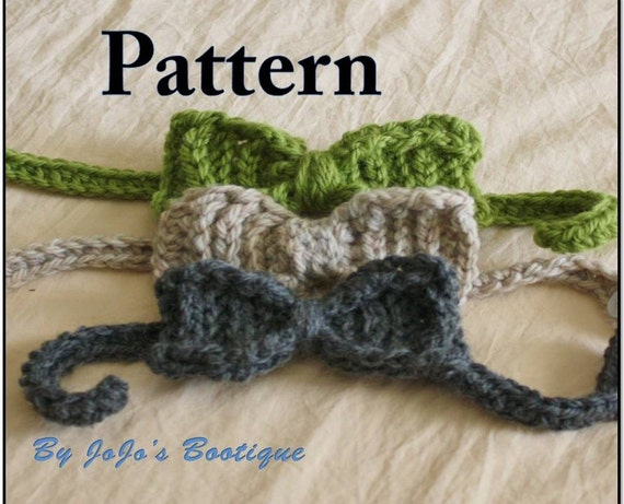 Baby Boy Tie Pattern Pdf Bow Tie Pattern Baby Neck Tie Etsy