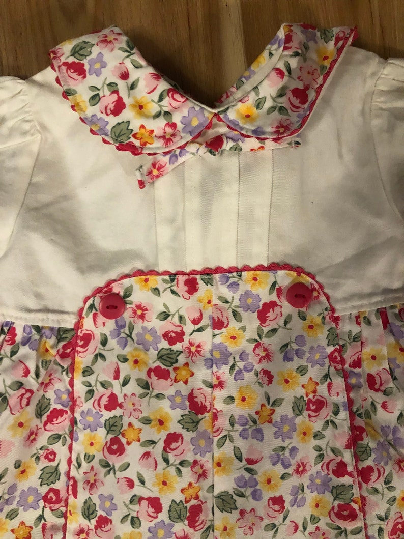 Infant One Piece outfit, Little Me brand Vintage size 3 month Baby Girl Romper