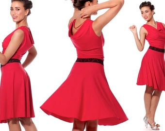 Dance dress BARCELONA for tango, dance, summer and party