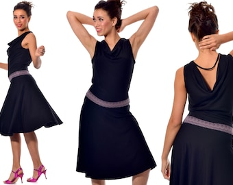 Dance dress VIENNA for tango, dance, summer and party